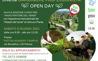 Open Day 5 giugno 2021 – Corso Manutentore del Verde